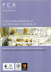 Cover of A new millennium at Southwark Cathedral